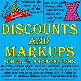 Discounts and Markups (Sale Price, Original Price, Markup