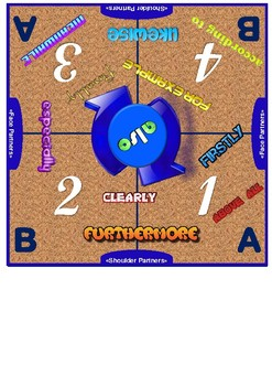 Discourse Markers Cooperative Learning Mat Set
