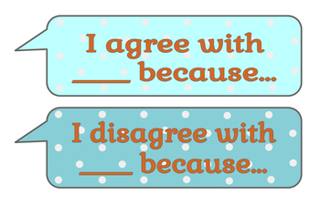 Discourse Sentence Frame Signs