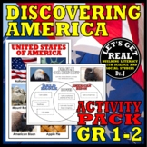 Discover America Activity Pack for Grades K-1