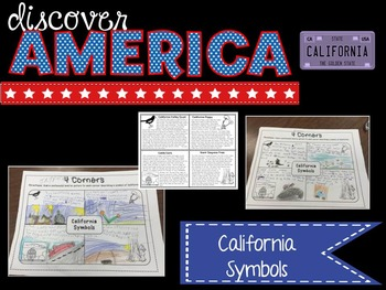 Discover America: California ~ Integrated Reading, Social Studies & Geography
