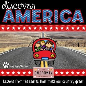 Discover America: California ~ Integrated Reading, Social
