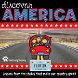 Discover America: Florida ~ Integrated Reading, Social Studies & Geography