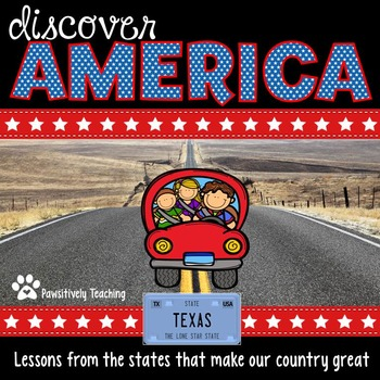 Discover America: Texas ~ An Integrated Reading, Social Studies & Geography Unit