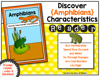 Discover Animals {Amphibians} Science Reader for First Gra