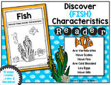 Discover Animals {Fish} Science Reader for First Grade & Kindergarten
