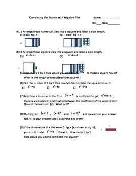 Discover Completing the Square to Solve Quadratics
