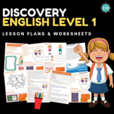Discover English - Level 1 (ESL) Lesson Plans & Worksheets