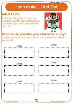 Discover English - Level 1 (ESL) Lesson Plans & Worksheets