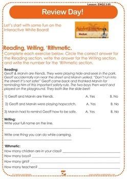 Discover English - Level 2 (ESL) Lesson Plans & Worksheets