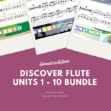 Discover Flute Complete Music Bundle Units 1 - 10