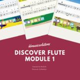Discover Flute Unit 1 Interactive Module
