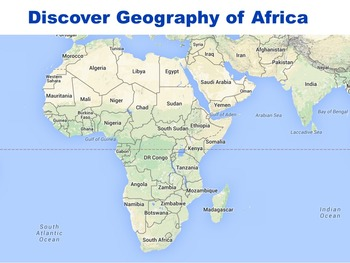 Discover Geography of Africa Google Earth Part 1