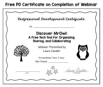 Discover MrOwl: A Free Tech Tool (Free Webinar Note-taking Handouts)