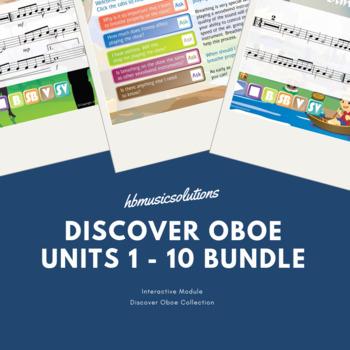 Discover Oboe Complete Bundle Units 1 - 10