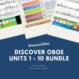Discover Oboe Complete Bundle Units 1 - 10