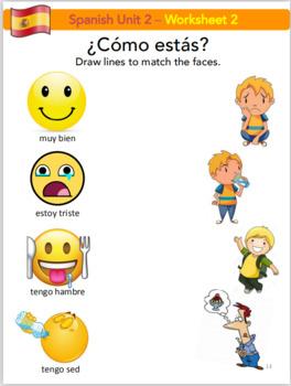 Discover Spanish (Preschool 40 lesson bundle/worksheets/flashcards)