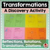 Discover Transformation Rules on the Coordinate Plane & Pr