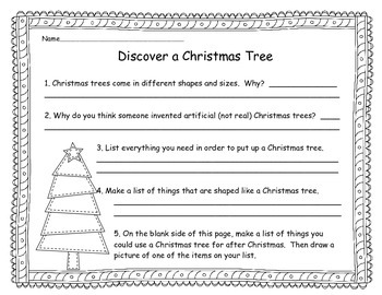 Discover a Christmas tree