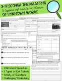 Discover the Meaning of Unknown Words Practice Packet