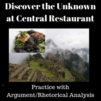 Discover the Unknown at Central Restaurant—Practice with Argument