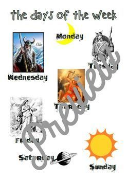 Discover the orgins of the Days and Months in English _ Vocabulary & History
