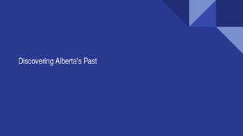 Discovering Alberta's Past