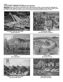 Discovering American Indian Societies: A Visual Analysis
