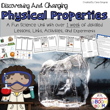 Physical Properties - Discovering And Changing Properties {K-2}