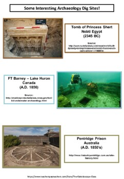History - DISCOVERING ARCHAEOLOGY - Research Tasks - Resources and Much More!!!