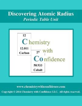 Discovering Atomic Radius WS