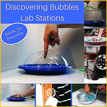 Discovering Bubbles:  5 Activities for Exploring the Science of Bubbles
