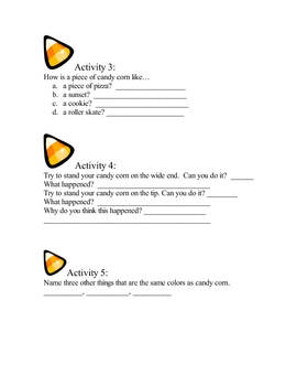 Discovering Candy Corn  ~ Great for Halloween!