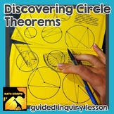 Discovering Circle Theorems - Guided Inquiry & Reference Pack