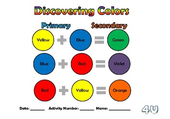 Discovering Colors!