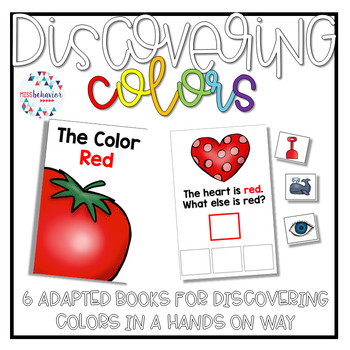 Discovering Colors: Adapted Book Bundle