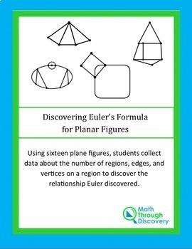 Geometry:  Discovering Euler's Formula for Planar Figures