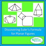 Geometry - Discovering Euler's Formula for Planar Figures