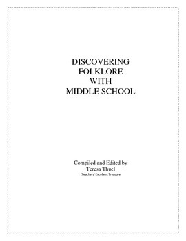 Discovering Folklore With Middle School
