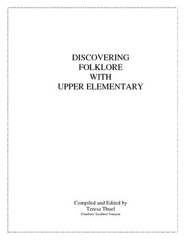 Discovering Folklore With Upper Elementary