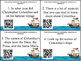 Columbus Day Four Types of Sentences Scoot Cards and INB F
