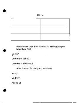 Discovering French 1 Bleu Unit 5 lesson 14 aller verb to go Blanc