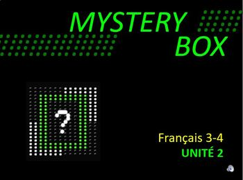 Discovering French Blanc - ENTIRE UNIT 2 REVIEW - MYSTERY BOX GAME