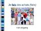 Discovering French Blanc: Unit 2: Les Activités du Weekend Vocabulary PowerPoint
