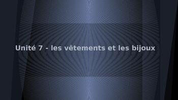 Discovering French! Blanc - Unit 7: les vêtements et les bijoux