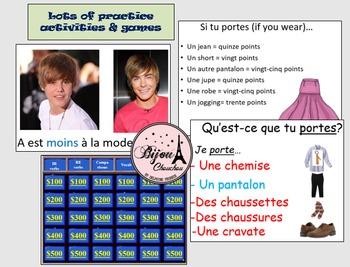 Discovering French Bleu ENTIRE Unit 6 Curriculum Bundle (Lessons 17 thru 20)