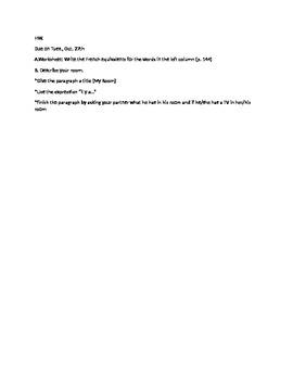 Discovering French Bleu Lesson Plan U4 L9 p.144
