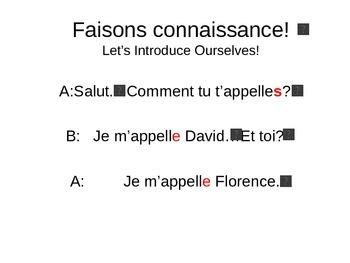 Discovering French Bleu Powerpoint Unité 1 Leçon 1