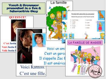 Discovering French Bleu Unit 1 Lesson 2 - ENTIRE CHAPTER BUNDLE