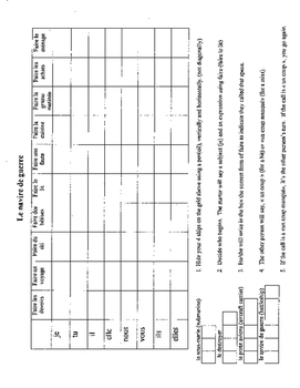 Discovering French Bleu Unit 3 lesson 8 Faire conjugation battleship homework